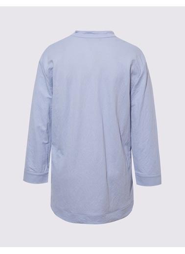 Marks & Spencer Popover Gömlek Mavi